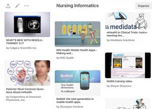 Nursing Informatics Pinterest board