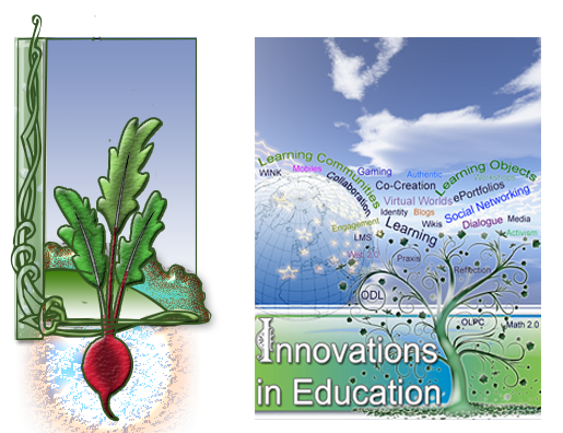 Figure 6: Rhizosphere Layer of a Food Forest Garden and the corresponding eTextbooks and resources technology layer